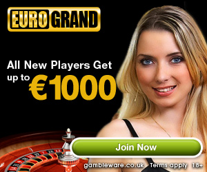 All New Players Get up to €1000